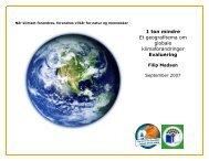 Når klimaet forandres - Grønt Flag - Grøn Skole