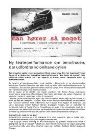 Download pressemeddelelse - Teater Pozzo