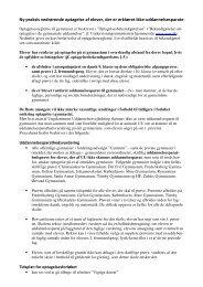 Klik her for yderligere information (pdf). - Tårnby Gymnasium & HF