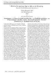 Corel Ventura - BATCH111.CHP - Forsikrings- og Erstatningsretlig ...