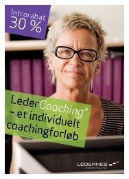 Leder Coaching ® – et individuelt coachingforløb - Lederne