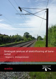 Opgave A: Strategianalysen - Transportministeriet