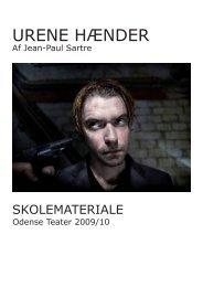 URENE HÆNDER - Odense Teater