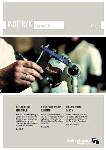 IND|TRYK November 06 NR 21 - Københavns Tekniske Skole