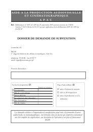 formulaire de demande d'aide APAC