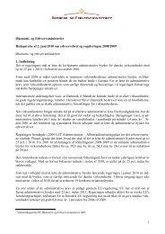 1 Økonomi- og Erhvervsministeriet Redegørelse af 2. juni 2010 om ...