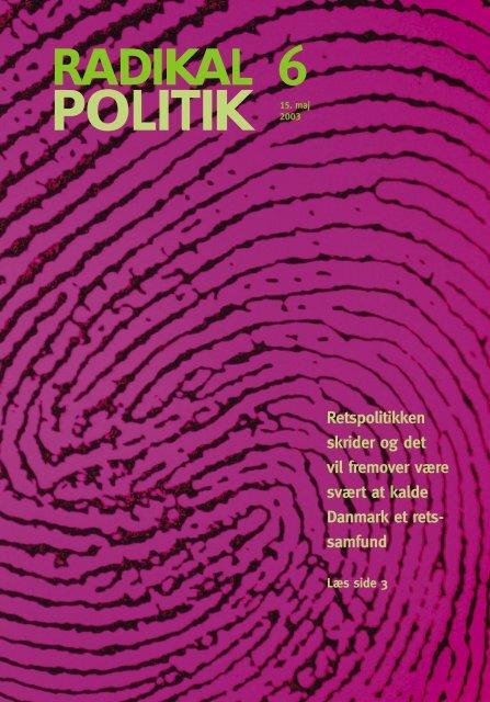 POLITIK - Radikale Venstre