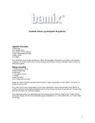 Bamix - Opskrifter - Politiken Plus