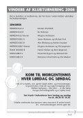 Tennisblad - Nr. 1 - 2009 - Tølløse Tennis Klub - Page 7