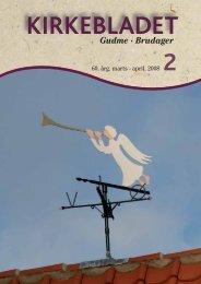 2008 Kirkeblad nr. 2, Marts - Gudme-Brudager kirker