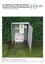 En kogebog for analyser af klimaændringernes effekter på ... - Danva