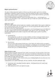 Regler og konsekvenser - koncept - Eggeslevmagle Skole