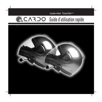 Notice d'installation du Scala rider ou Cardo BT ... - Suzuki DL 650