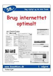 Brug internettet optimalt (PDF) - Forside Torben Kjær