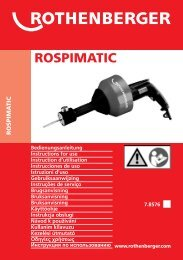 BA ROSPIMATIC Umschlag Paket C-0210.cdr - Servis - Rothenberger