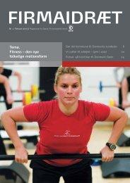 Tema. Fitness – den nye folkelige motionsform - Dansk ...