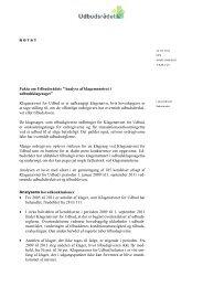 """Fakta om Udbudsrådets """"Analyse af klagemønstret i ..."""