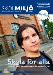 Skolmiljö 2/2011 - SISAB