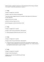 Følgende forslag er modtaget fra medlemmerne til behandling på ...