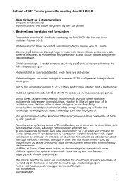 Referat fra generalforsamlingen den 3. marts 2010