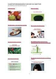 Se en oversigt over diverse foldere her - Hjerteforeningen