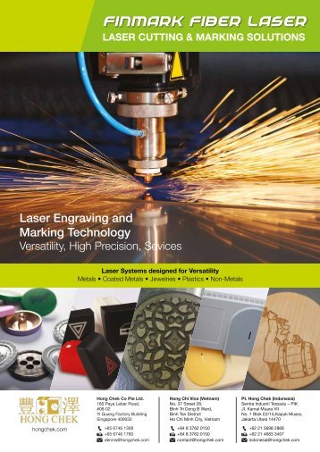 laser cutting & marking solutions - The Green Book