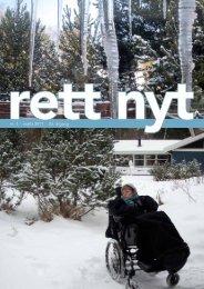 nr. 1 · marts 2011 · 23. årgang - Landsforeningen Rett Syndrom