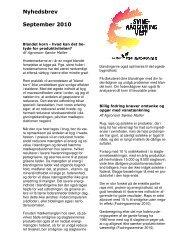 Nyhedsbrev September 2010 - Velkommen til Jordbrugets ...