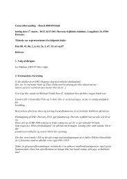 Referat fra Generalforsamling 2012 - BB10m