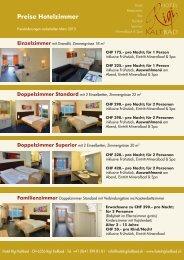 geht's zu den Zimmerpreisen - Hotel Rigi Kaltbad