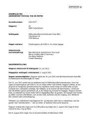 Afgørelse 2012-0277, 23. januar 2013 - Ankenævnet for Bus, Tog og ...
