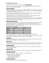 Note om lægdsruller - Dannebrog