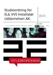 Studieordning 2010 Studieordning 2009 - Erhvervsakademi Sydvest