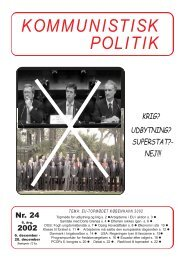 KP 24, 2002 - Kommunistisk Politik