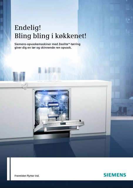 Endelig! Bling bling i køkkenet! - Siemens
