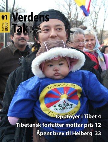 Verdens Tak 1-2008.pdf - Den norske Tibet-komité