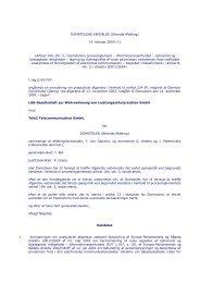 DOMSTOLENS KENDELSE (Ottende Afdeling) 19. februar 2009 ...