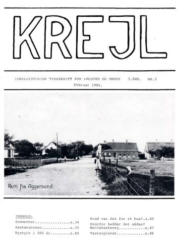5. årgang nr. 3 - Lokalhistorisk Arkiv