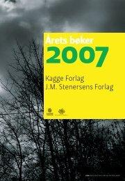 Årets bøker - Kagge Forlag AS