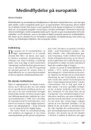 Medindflydelse på europæisk - Nyt om Arbejdsliv