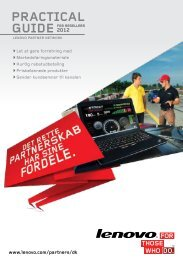 practical guide for resellers - Lenovo Partner Network