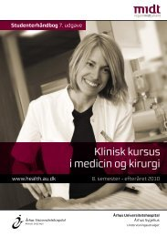 Studenterhåndbog 7. udgave - Aarhus Universitetshospital