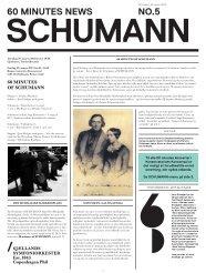 60 minutes of schumann - Copenhagen Phil