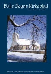 December - Januar - Februar 2008/2009 - Balle Kirke