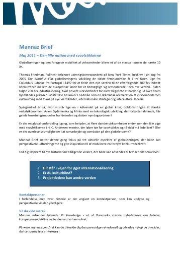 Download Mannaz Brief – Maj 2011