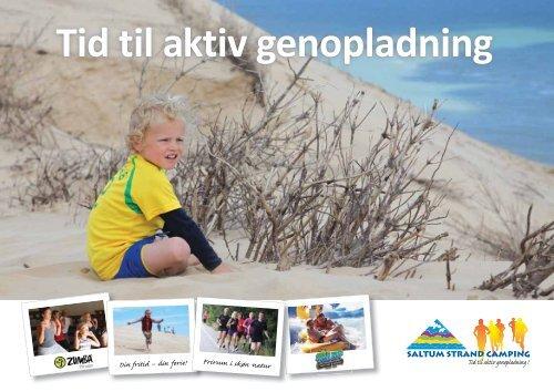 Se vores brochure her - Saltum Strand Camping
