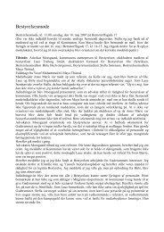 referat af møde d.16.maj 2007 v/Maya Thisted. - Gaderummet