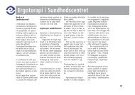[pdf] Ergoterapi i Sundhedscentret - Ergoterapeutforeningen