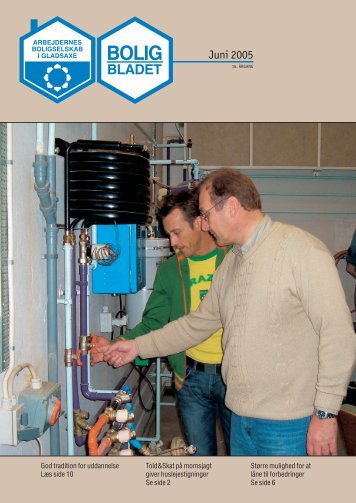 Juni 2005 - Arbejdernes Boligselskab i Gladsaxe