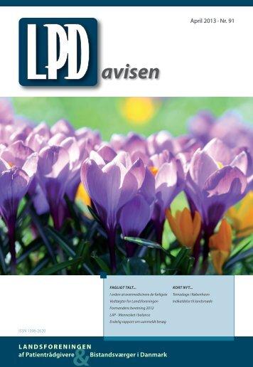 Nummer 91 (april 2013) - Landsforeningen af Patientrådgivere ...